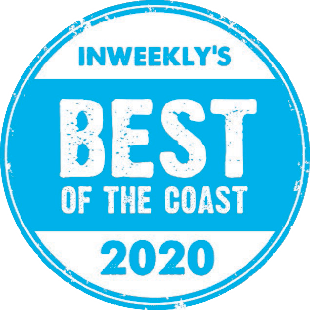 Inweekly's Best of the Coast 2020